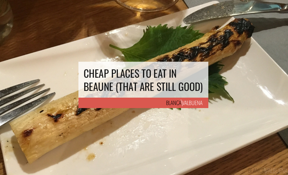 These restaurants in Beaune are a value