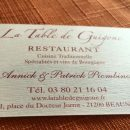 A family run restaurant in Beaune with a cheap lunch option