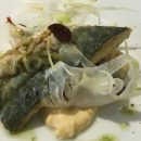 The Mackerel at Le Carmin in Beaune's city center