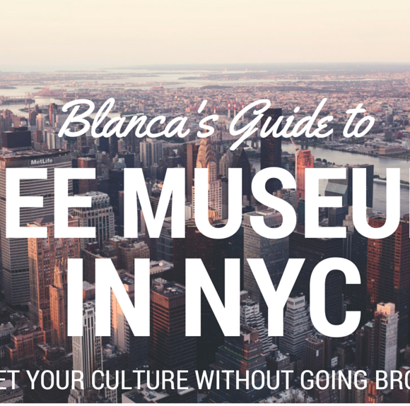 Cheap Things to Do in NYC: Museums, Galleries, and Art