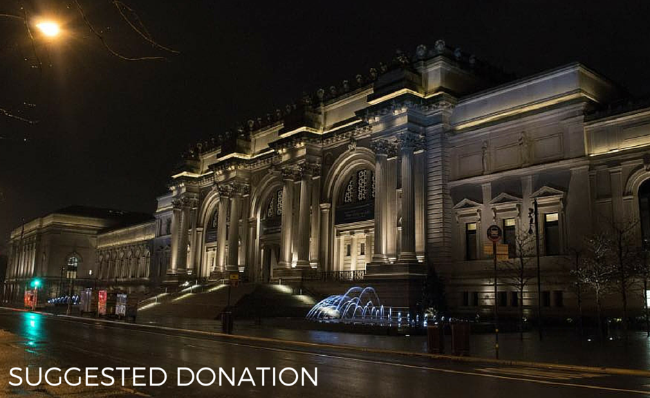 How to enjoy the met museum for pennies