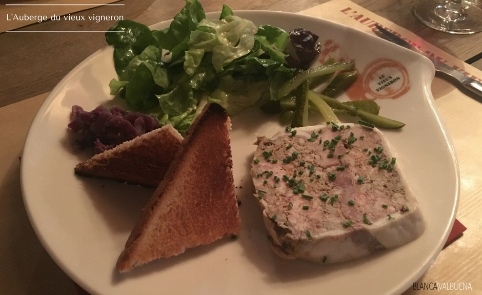 A delicious classic French starter