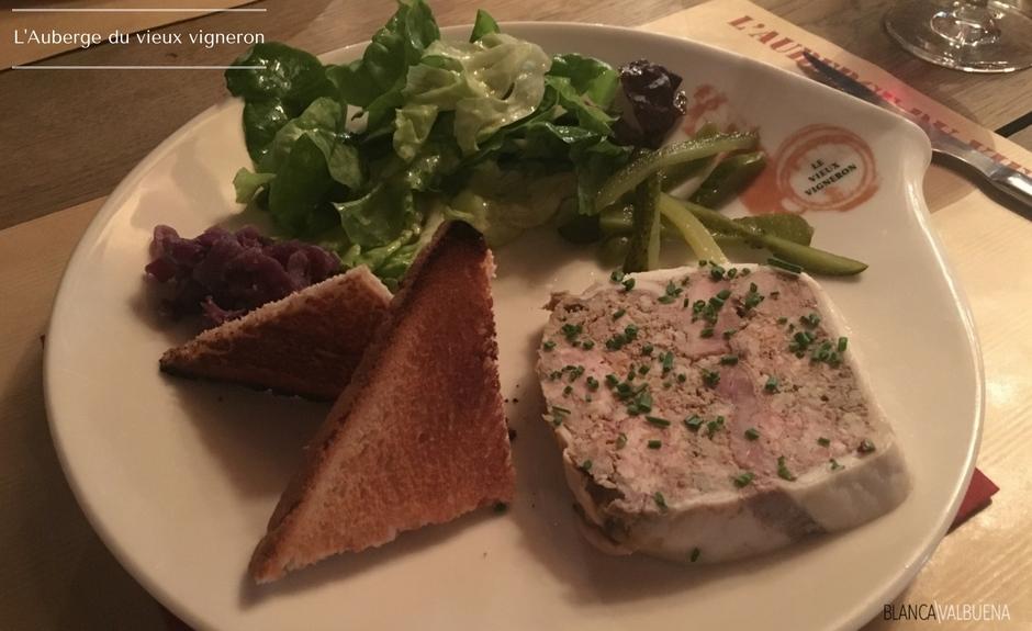 Ein köstliches klassisches Französisch Starter