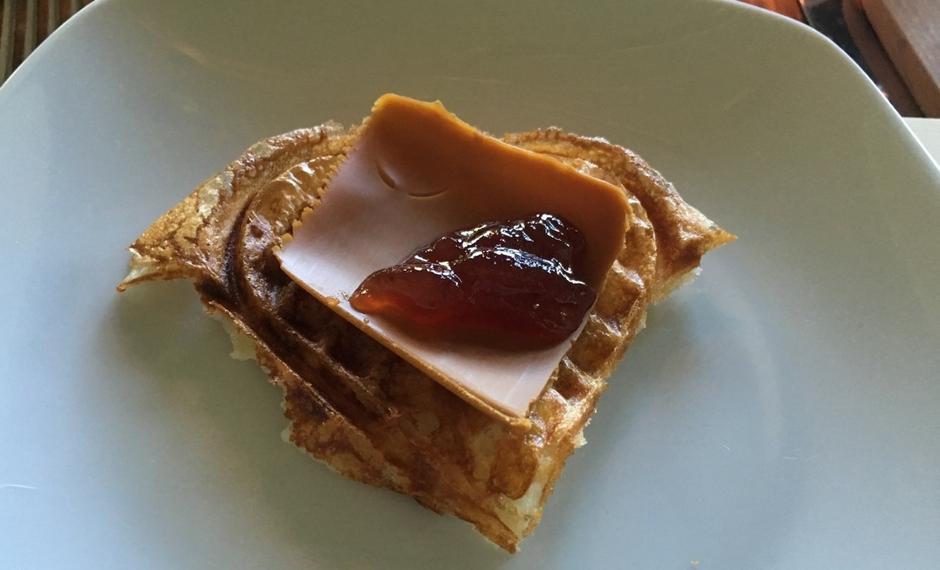 杰托斯特芝士是褐色的挪威奶酪