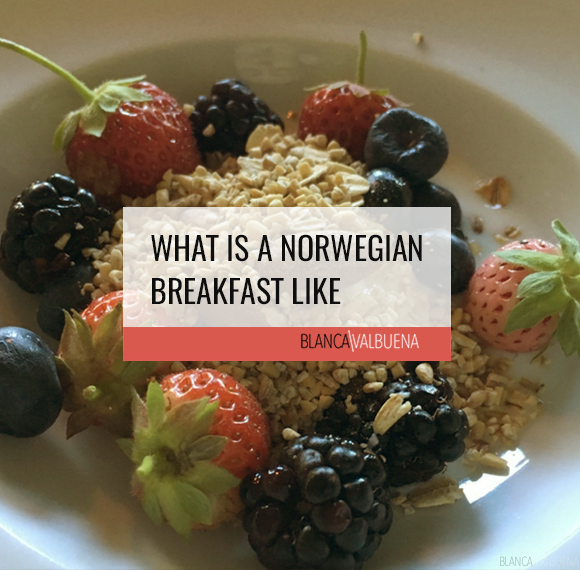 What is a Norwegian Breakfast Like