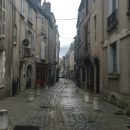 The streets of the artist quarter in Blois
