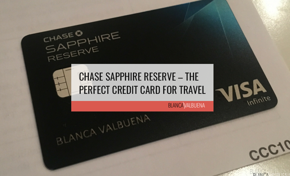 The travel perks offered by the Chase Sapphire Reserve Credit Card are incredible for those who are avid travelers