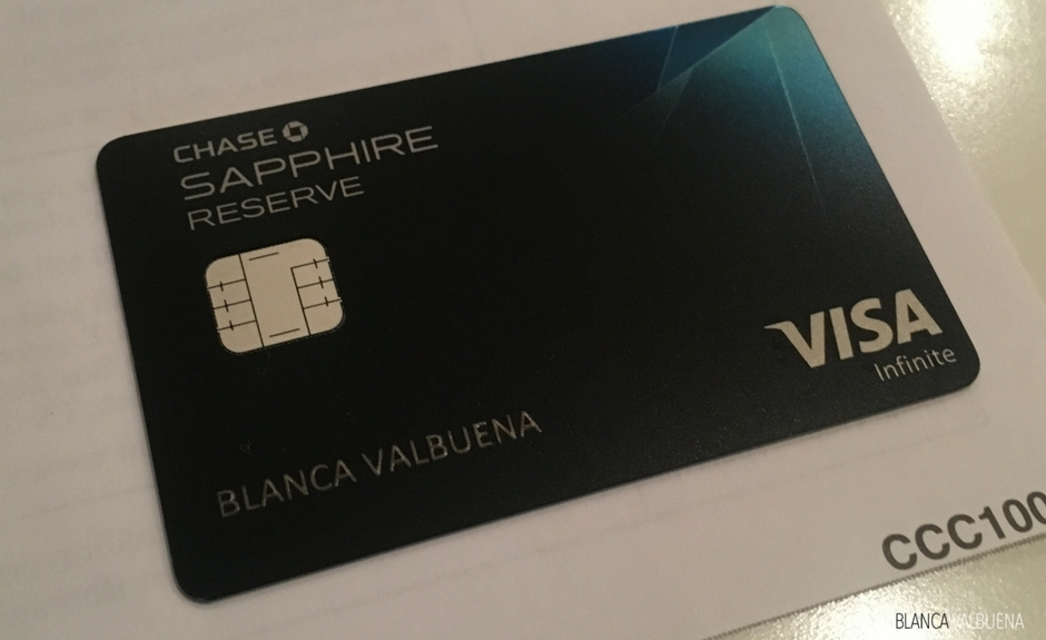 Chase Sapphire Rezerv yolcular için büyük bir kredi kartıdır