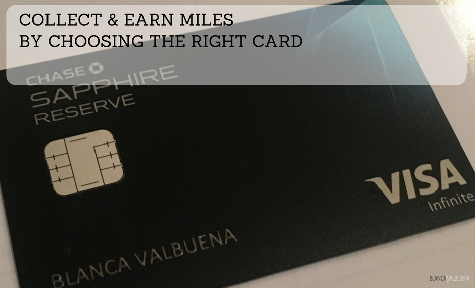 Choose the right card for your airline