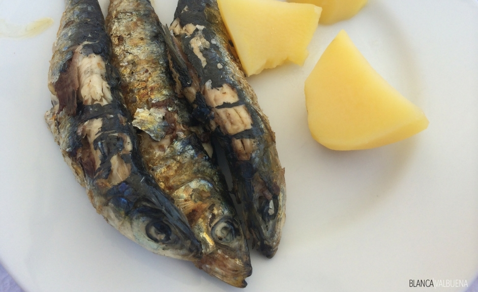 Grilled sardines are flaky and delicious