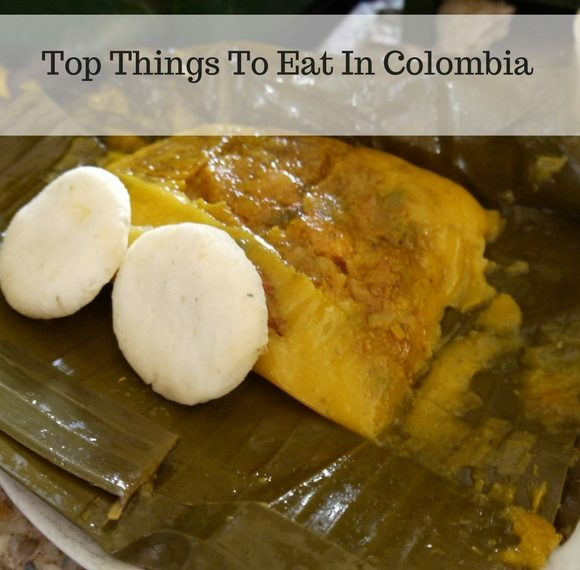 Things to eat in Colombia