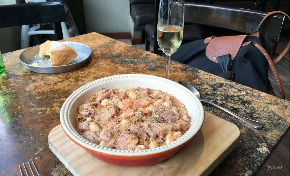 Il menù bistrot propone piatti impeccabili
