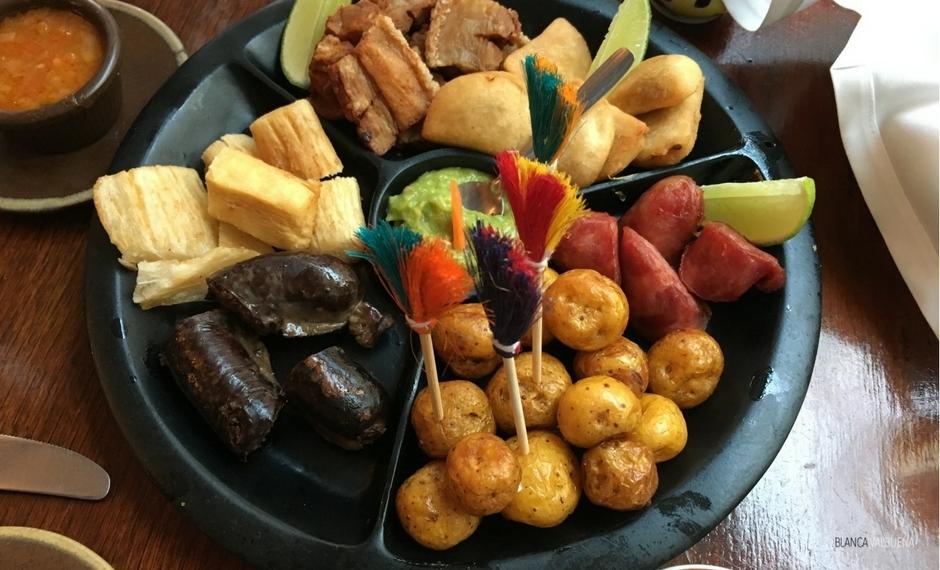 Per il buon cibo colombiano, andare a Casa Vieja in Usaquen