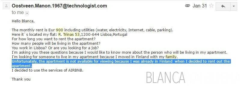 Si une liste Craigslist ne vous laissera pas voir l'appartement, il est probablement une arnaque