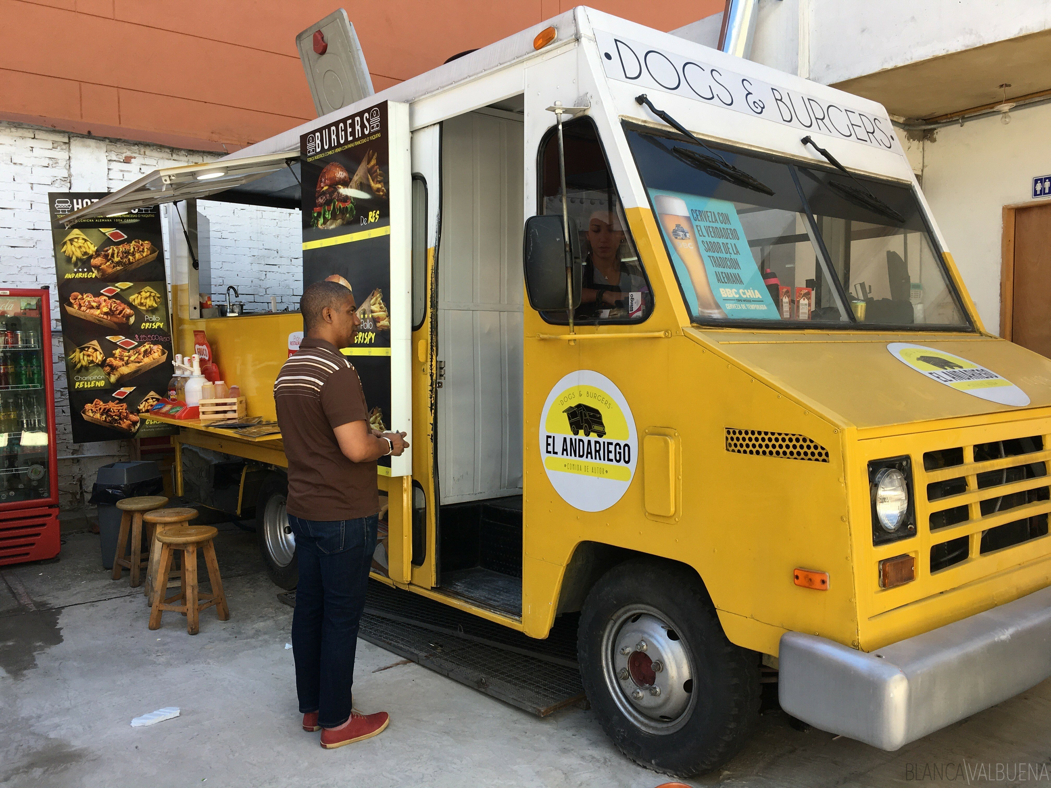 The Food Park in Usaquen is one of the best things to do In Usaquen