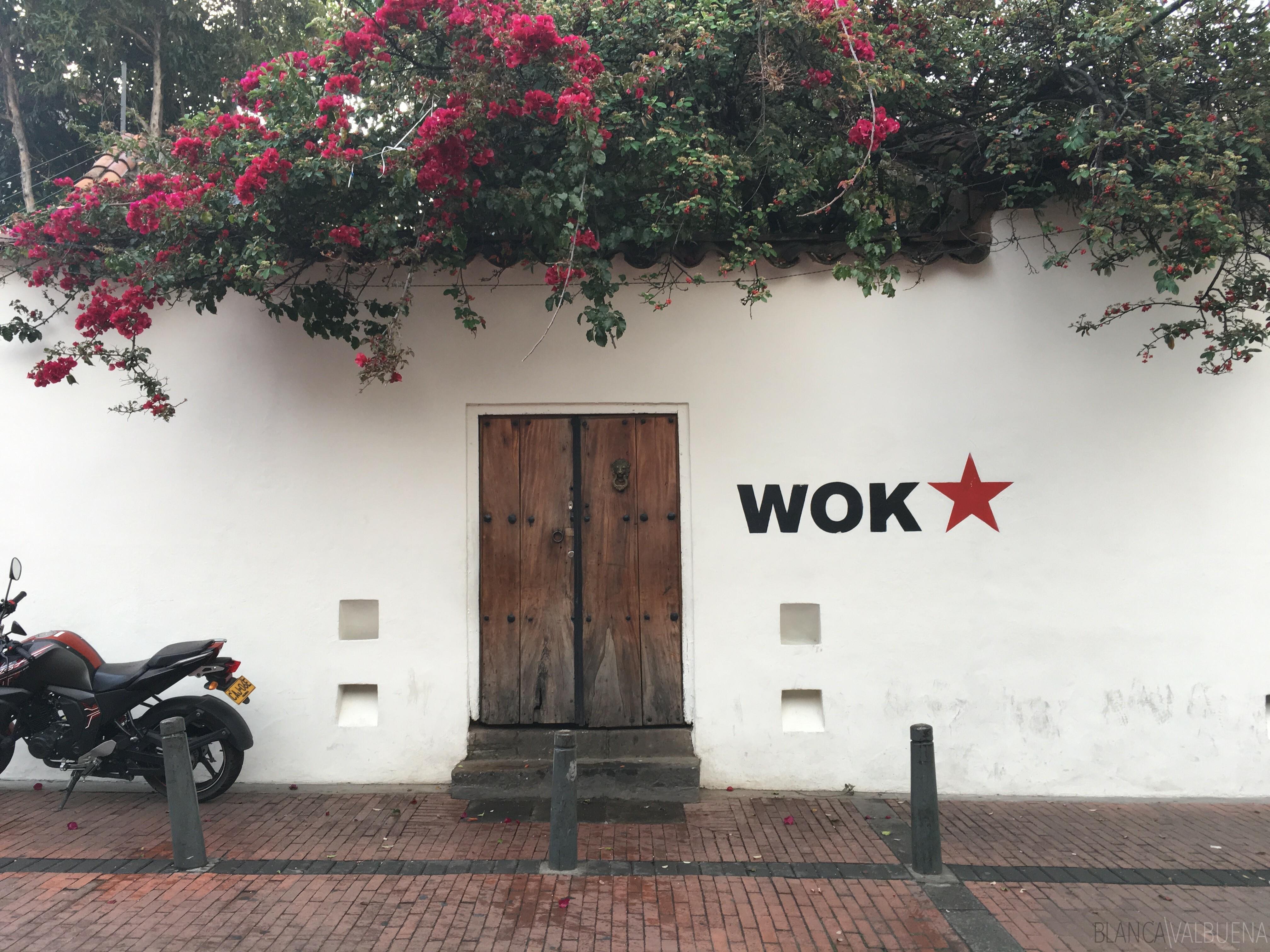 Wok Bogota kokteyller için harika bir yerdir