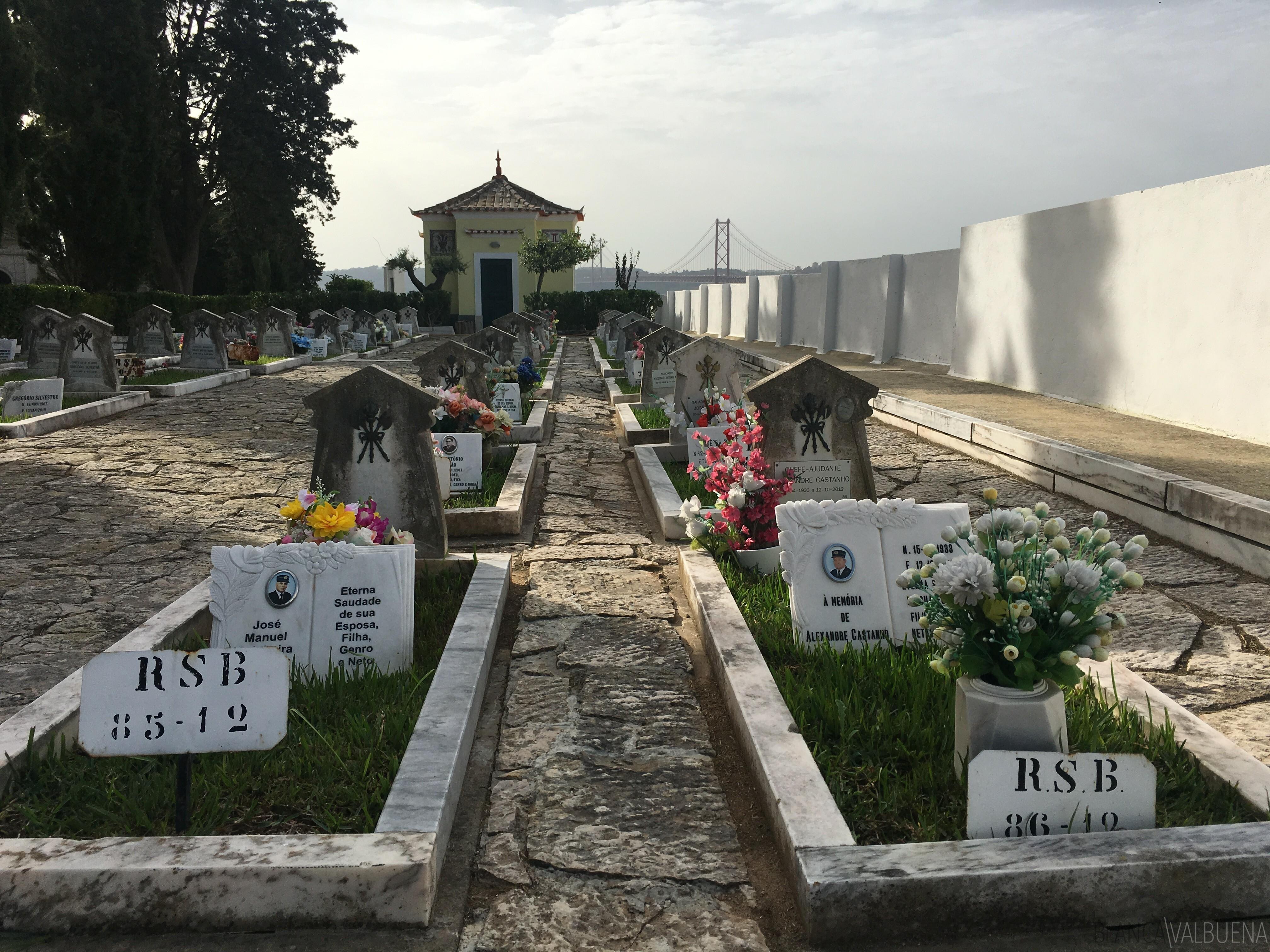 Bombeiro cemitério de Lisboa