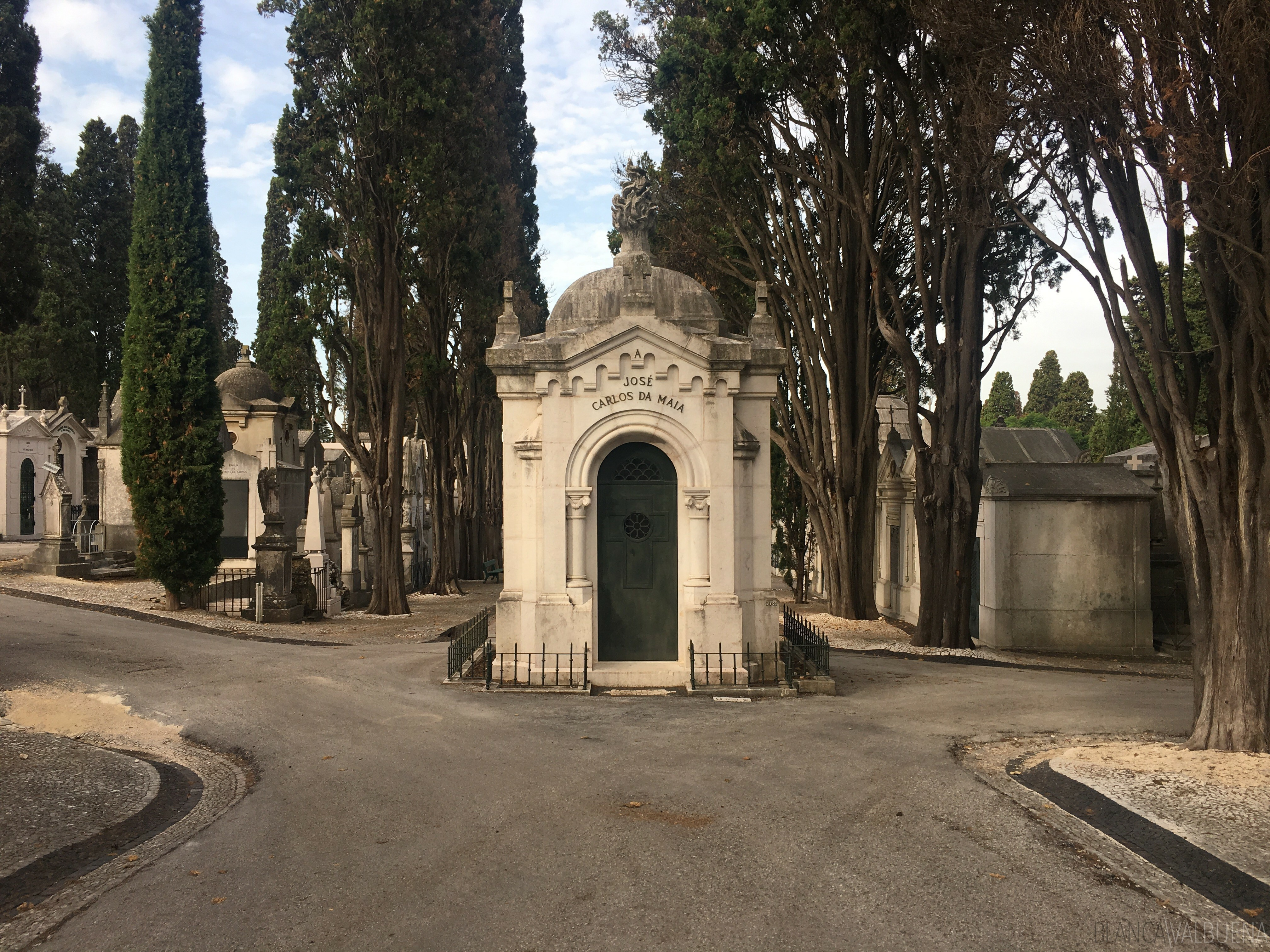 José Carlos da Maia ist auf dem Friedhof begraben Pleasures