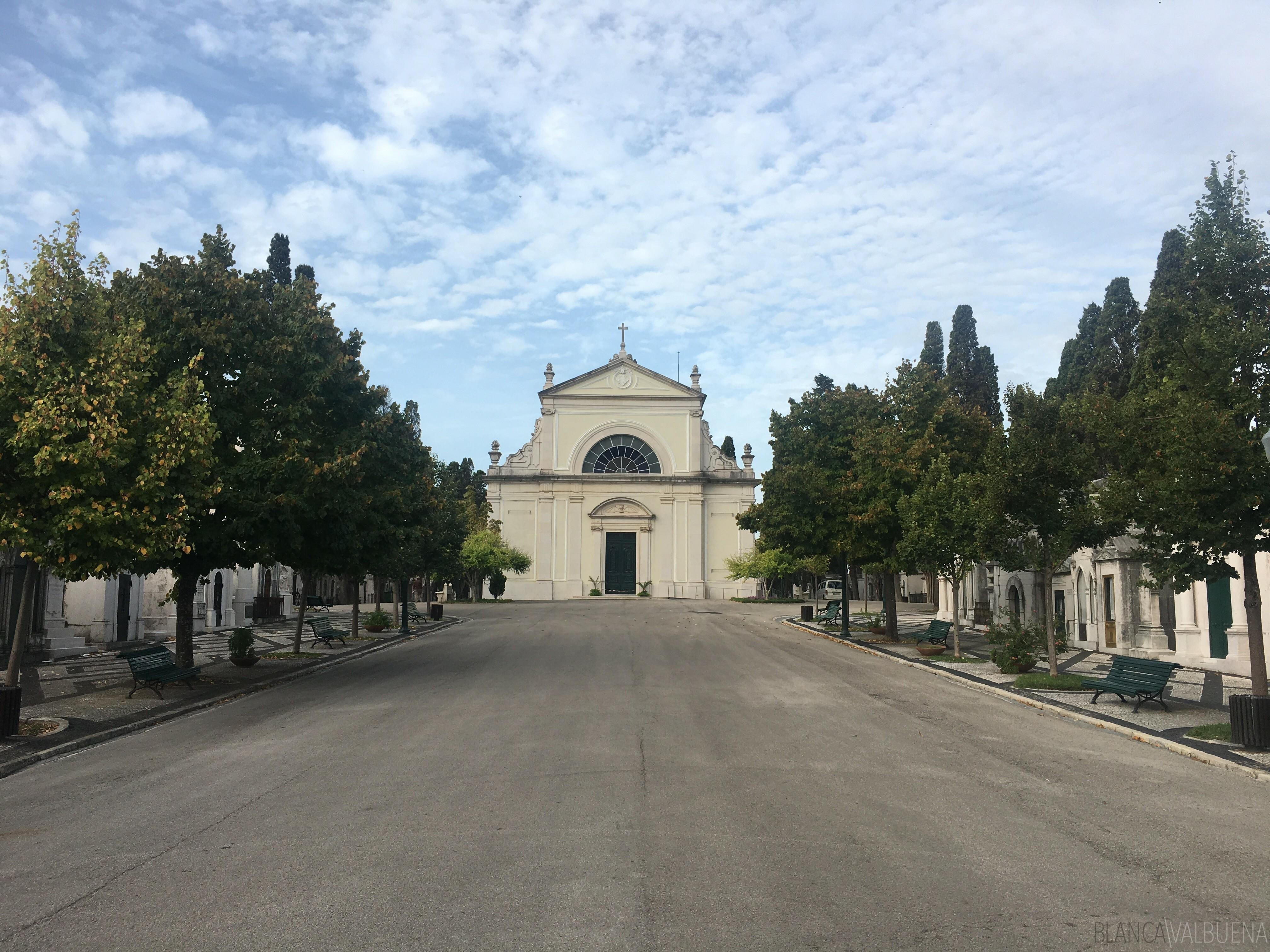 Prazeres ist der größte Friedhof in Lissabon