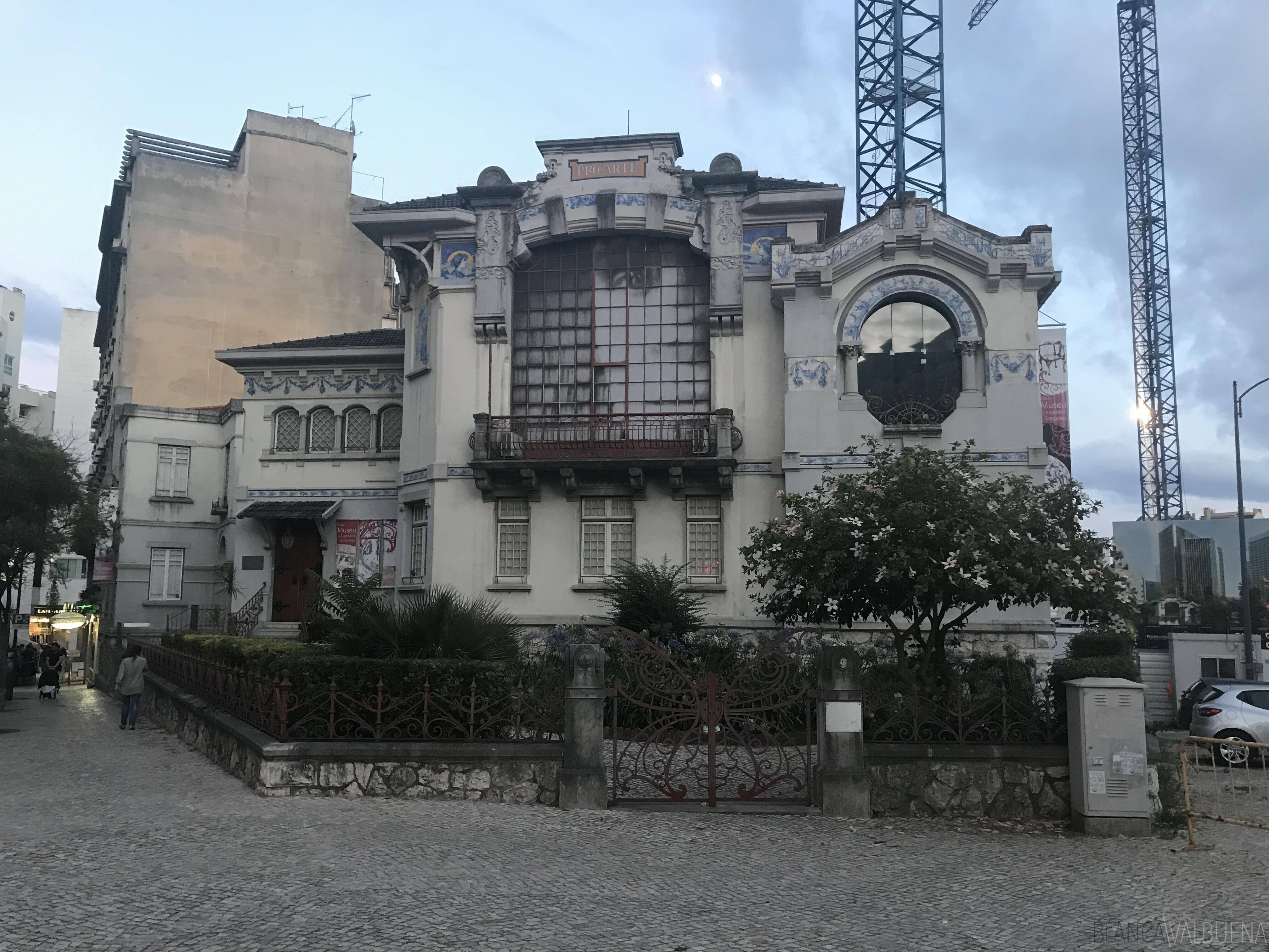 A Chinese Art Museum em Avenidas Novas