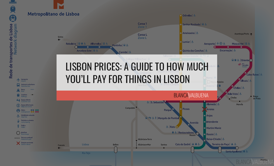 How much things cost in Lisbon