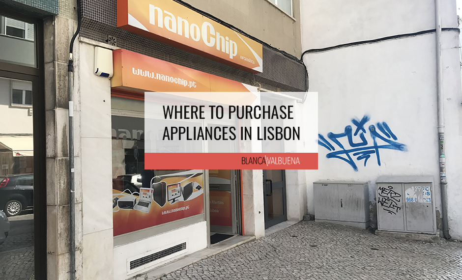 Stores where you can buy appliances and electronics in Lisbon