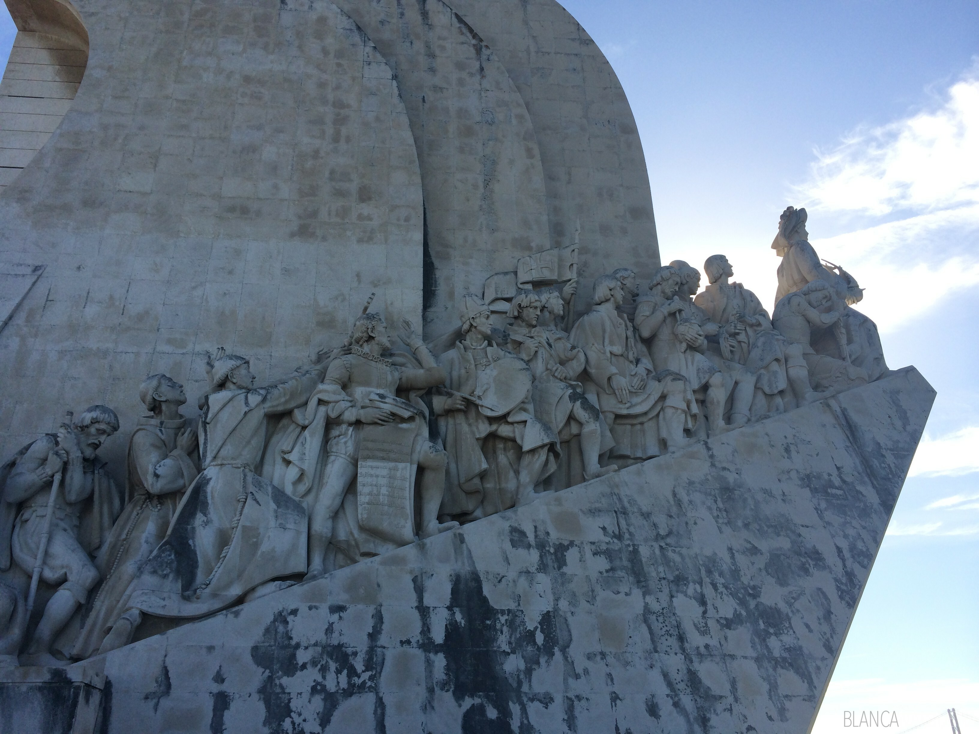 A great activity to do with kids is the Discoveries Monument in Belem