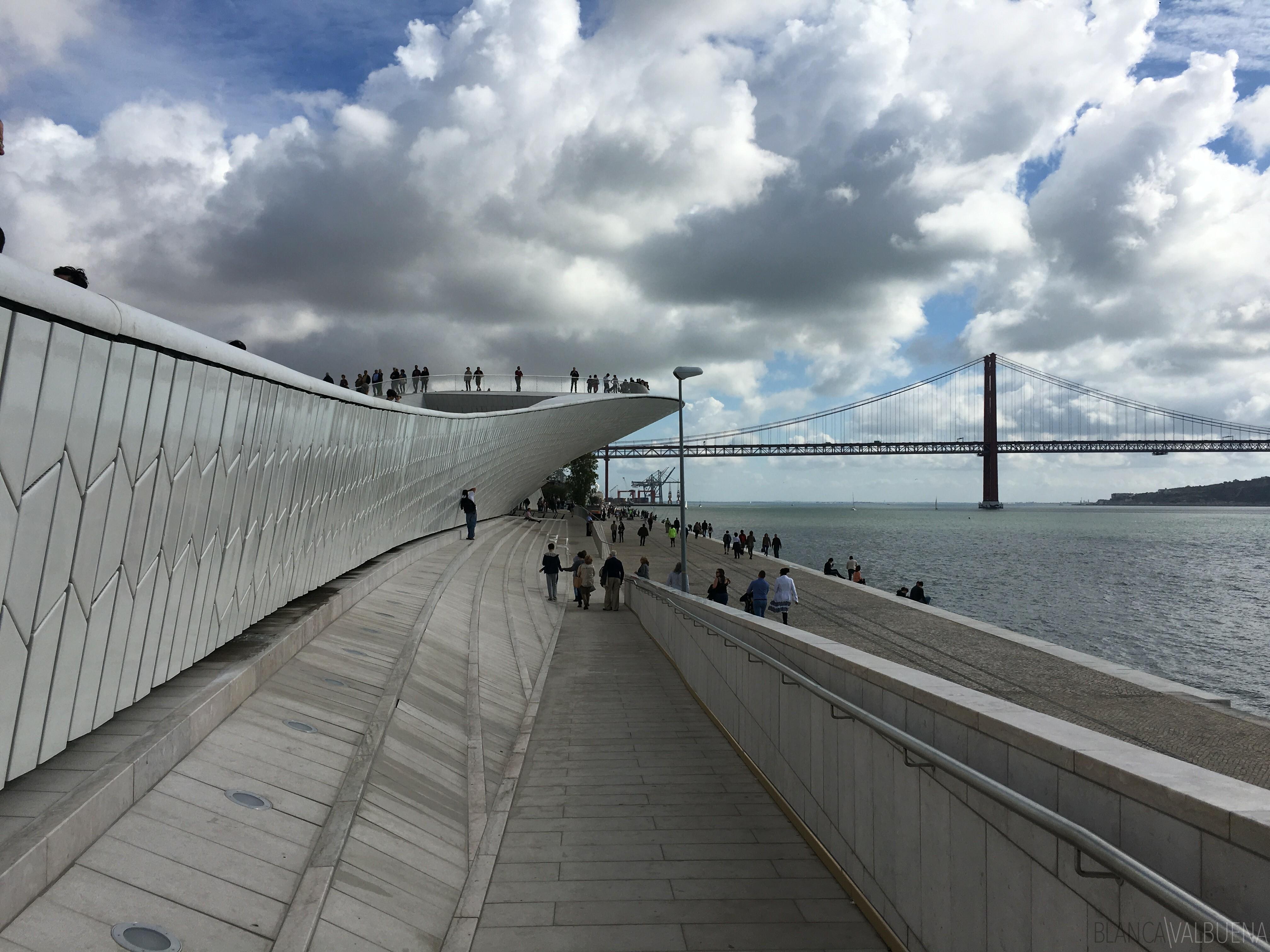 Nova moderno museu Belém