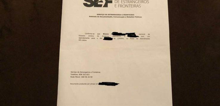 文件清单,你需要把你的葡萄牙D7居留签证预约