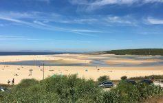 Praia de Meco is quiet, clean, and fun