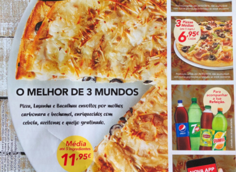 Terrible Pizza in Portugal