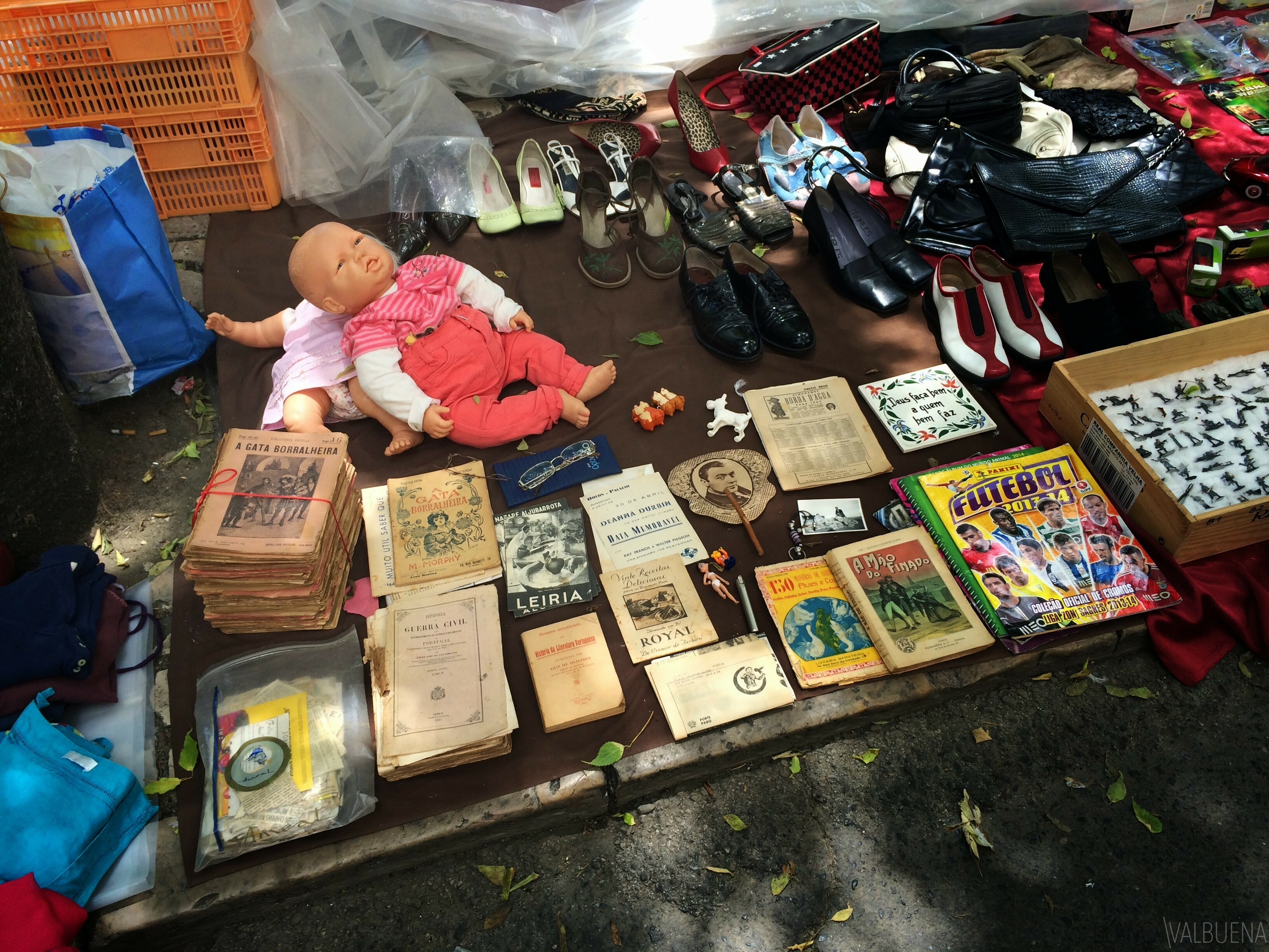 Where you can find antique books and magazines in lisbon