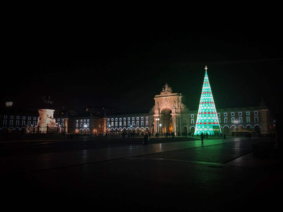 Christmas in Lisbon is full of lights