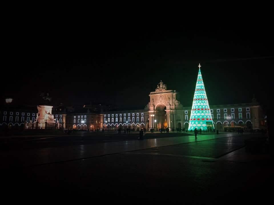 Christmas in Lisbon is full of lights