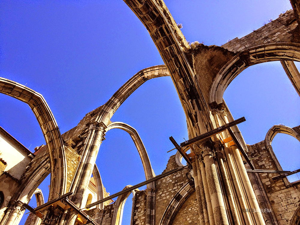 Carmo Convent in Lisbon is a must visit.