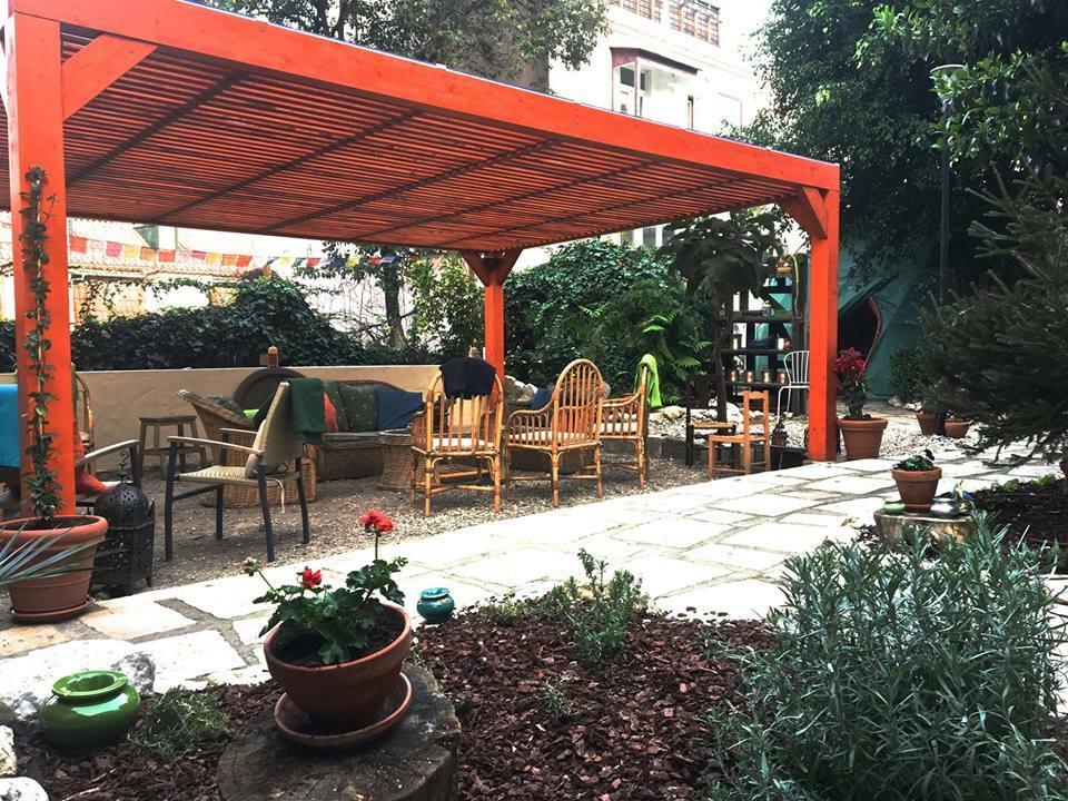 Jardim dos Sentidos n'est pas seulement un restaurant acceptant les chiens à Lisbonne, il est également respectueux des animaux car il sert de la nourriture végétalienne et végétarienne.
