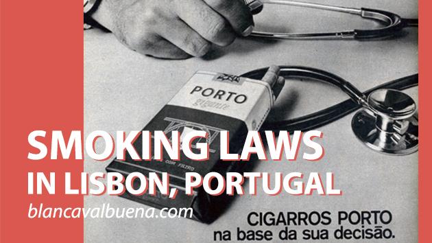 Where can I smoke in Lisbon
