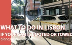 How to get boot removed from Car in Lisbon