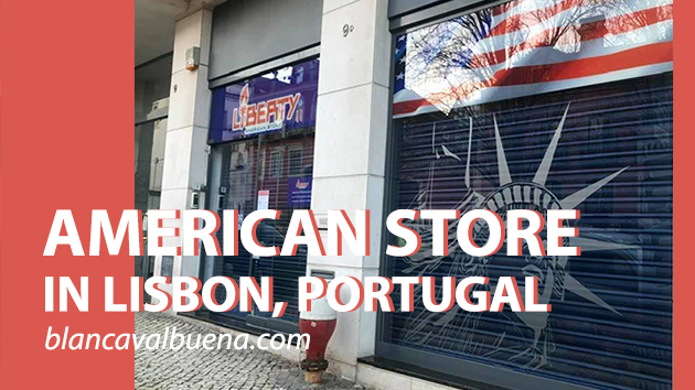 Liberty is an American store in Lisbon's Avenidas Novas neighborhood,